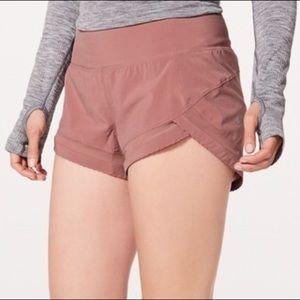 Lululemon Time to Sweat Quicksand Running Shorts